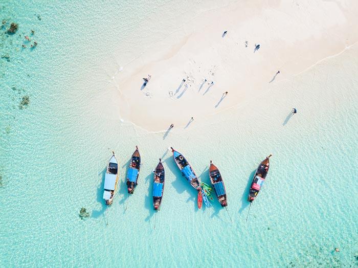 หมู่เกาะทะเลใต้ น้ำใสระดับโลก